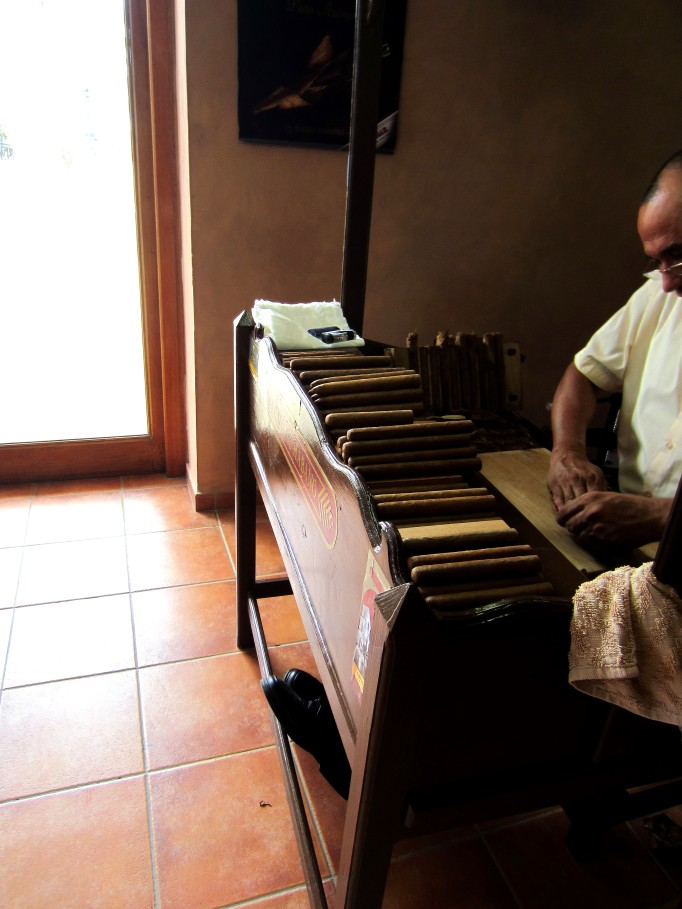 Cuban Cigars in process