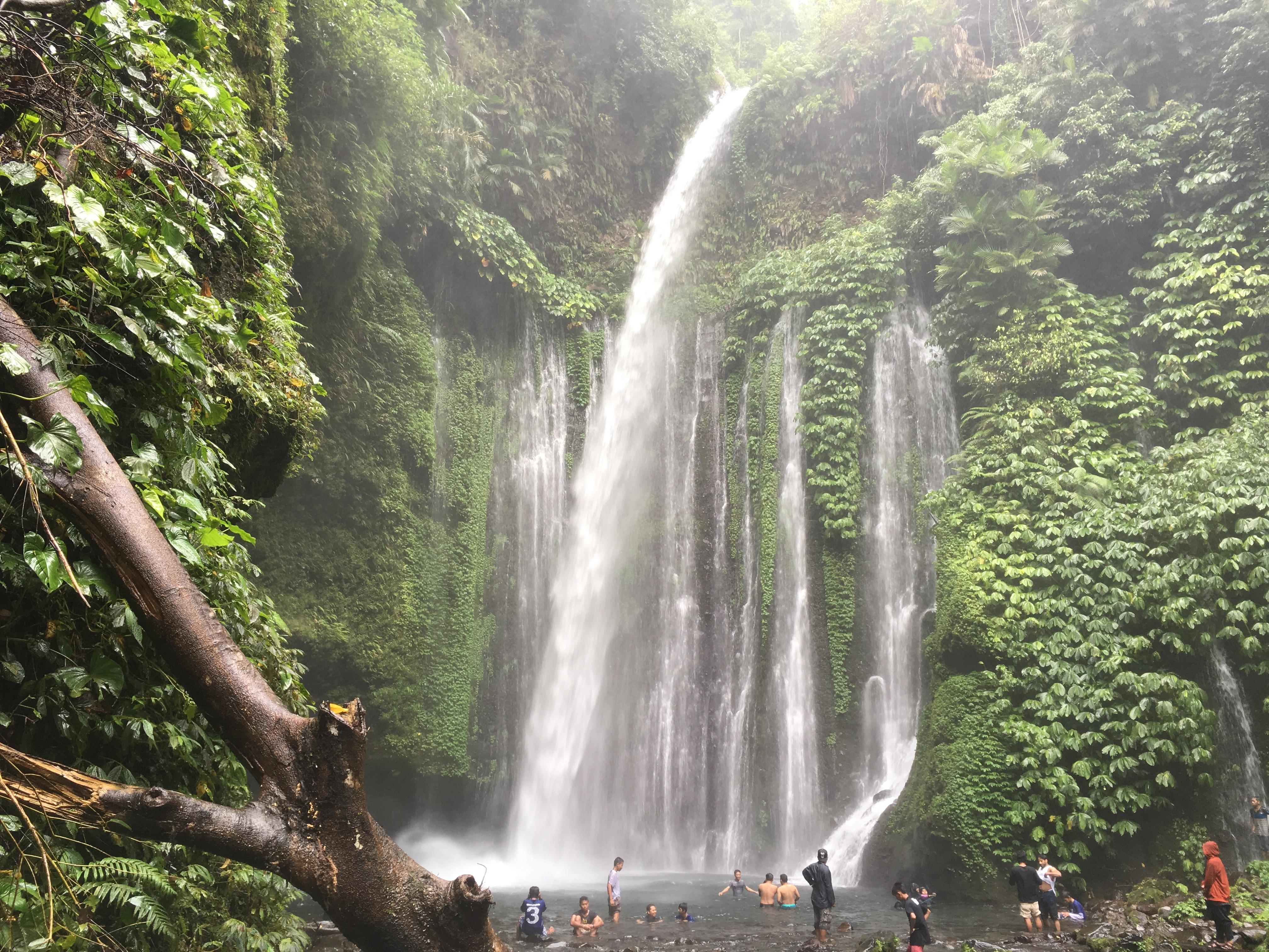 Journey to Sendang Gile & Tiu Kelep Waterfalls